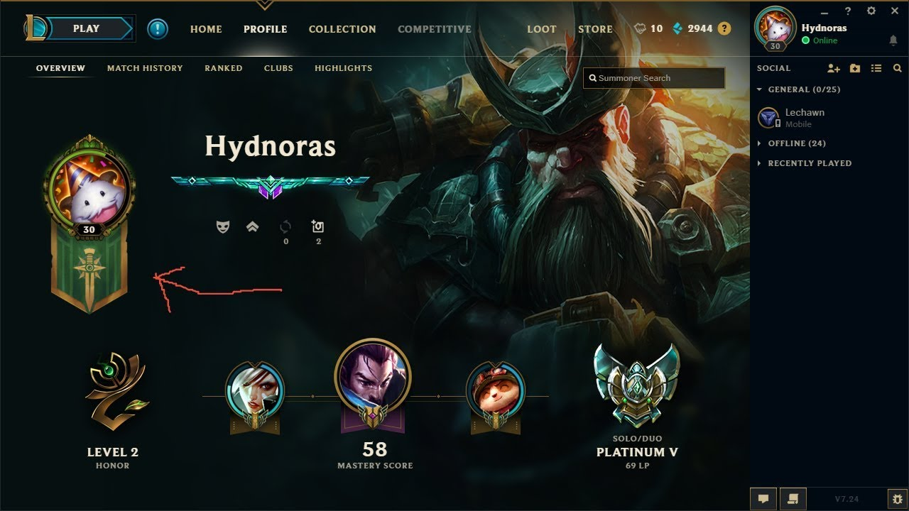 Free league of legends accounts 650 RP lvl 30 EUW