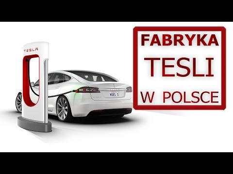 Fabryka Tesli w Polsce | Gigafactory - Tesla made in Poland
