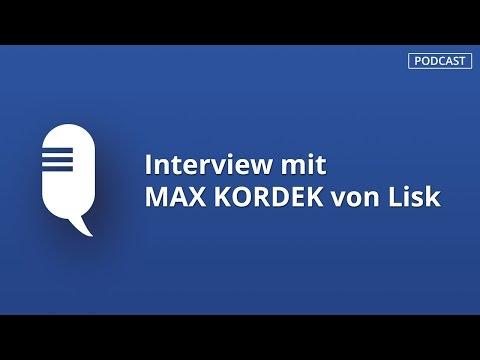 PODCAST: Lisk Mitgründer und CEO Max Kordek im Interview über sein Blockchain Startup