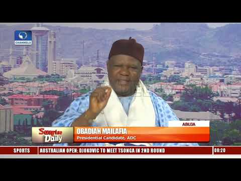 Politics In Nigeria Is Becoming An Atmosphere Of Fear - ADC Pres Candidate Pt.3 |Sunrise Daily|