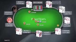 Sunday Million 13/04/2014 - Online Poker Show | PokerStars.com