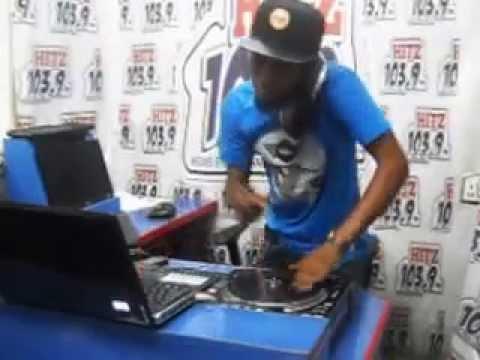 DJ WOBETE IN THE STUDIO HITZ FM 103 9