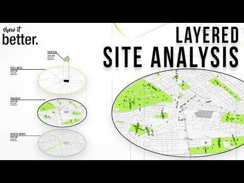 Layered Axonometric Map In Photoshop