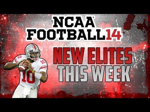 NCAA 14 | New ESPN Elites This Week | Troy Smith, Warrick Dunn, Orlando Pace, Chris Claiborne