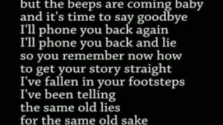 Whipping Boy - The Honeymoon Is Over (Lyrics)