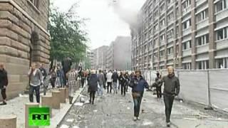 Explosión en Oslo, Noruega
