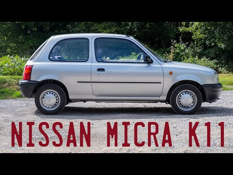 1997 Nissan Micra K11 Goes For A Drive