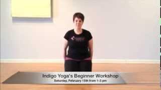 Indigo Yoga's Beginner Workshop