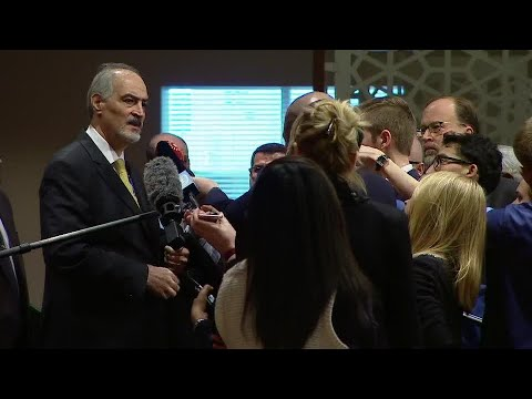 Syria on the situation in the Middle East -  Media Stakeout (22 Feb 2018)