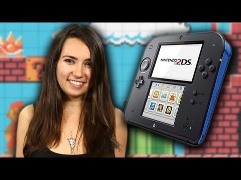 Nintendo Announces 2DS!!