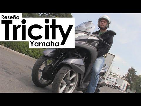 Reseña: Motocicleta Tricity de Yamaha