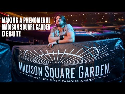 Follow AJ Styles on his first night in Madison Square Garden