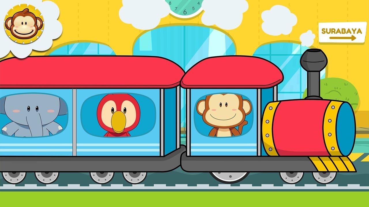 Lagu Anak Anak | Naik Kereta Api