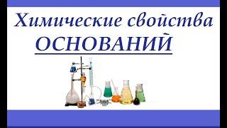 Химические свойства оснований (щелочи)