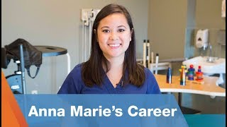 Anna Marie's Career as an Occupational Therapist