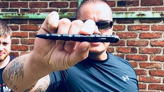 Verteidigen und Angreifen mit einem Tactical Pen