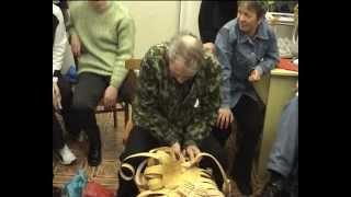 Плетение из бересты ч.1.avi