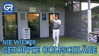 NIE WIEDER GETOPPTE GOLFSCHLÄGE - GOLFSCHWUNG TECHNIK