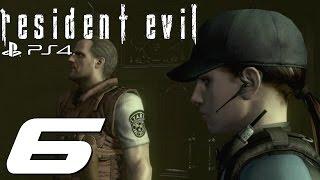 Resident Evil HD Remaster (PS4) - Jill Walkthrough Part 6 - V-Jolt & Plant 42