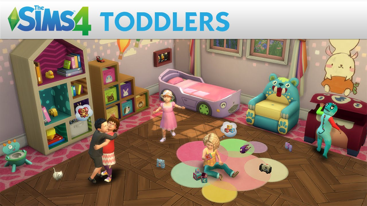 Sims 4 Toddler Stroller Mod The Biggest Little Update Toddlers Are Now In The Sims 4