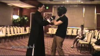 Sifu Samuel Kwok Demonstrating Basic Wing Chun Techniques thumbnail