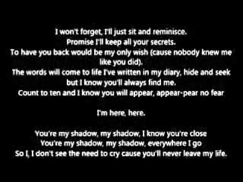 Jessie J - My Shadow(lyrics)