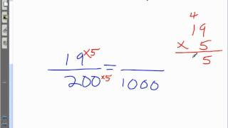 Section 3.1(Continued)- Fractions to Decimals, Pattern and Repeating Decimals