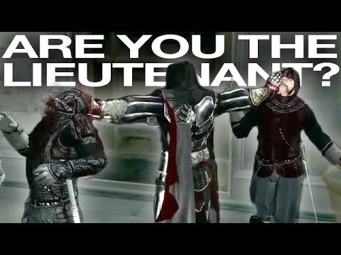 Are You The Lieutenant?