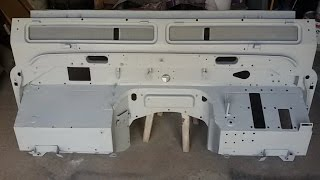 Land Rover Defender bulkhead repair
