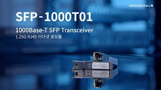SFP to Copper RJ45 Transceiver…