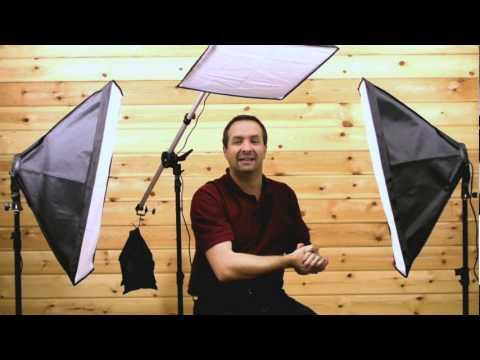 Three Point Lighting Video Softbox Lighting Tutorial
