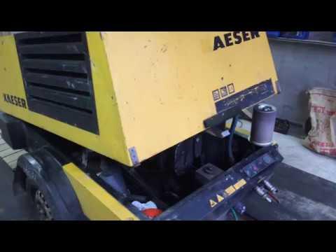 Пескоструйный компрессор, компрессор для пескоструя.  Видео от Peskom By