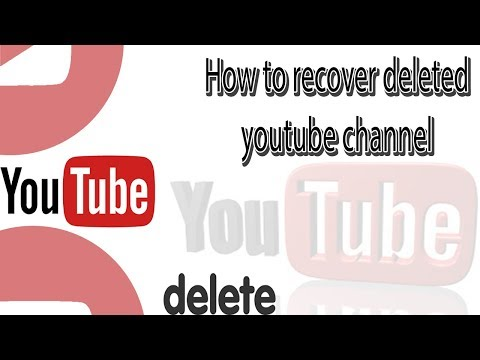 How To Recover Deleted Youtube Channel In Tamil | VIDEO WORLD