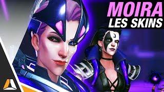 Skins, Golden Guns et emotes Moira disponibles ! ► Overwatch PTR