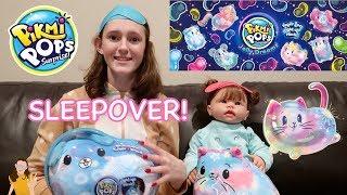 Moose Toys Pikmi Pops Jelly Dreams Sleepover! Light Up Stuffed Animals! | Kelli Maple