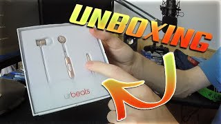 Unboxing 'Urbeats' Beats By Dre Headphones! (Earbuds) W/First Impressions