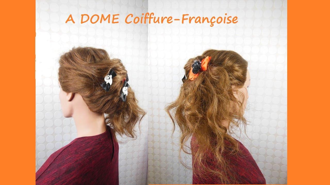 Coiffure cheveux mi long halloween