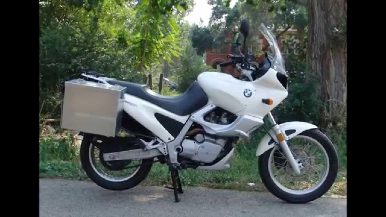 1997 Bmw F650 St White Youtube