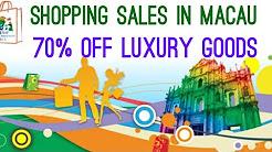 Cheap luxury goods - Shopping in Macau