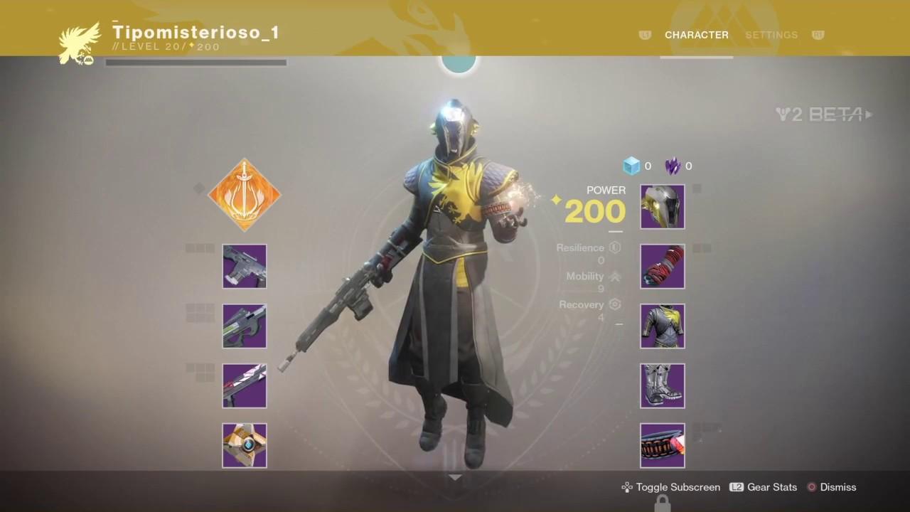 R Destiny Warlock Best Build