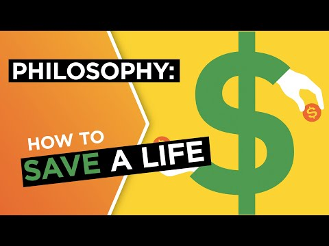 How much does it cost to save a life? | Peter Singer