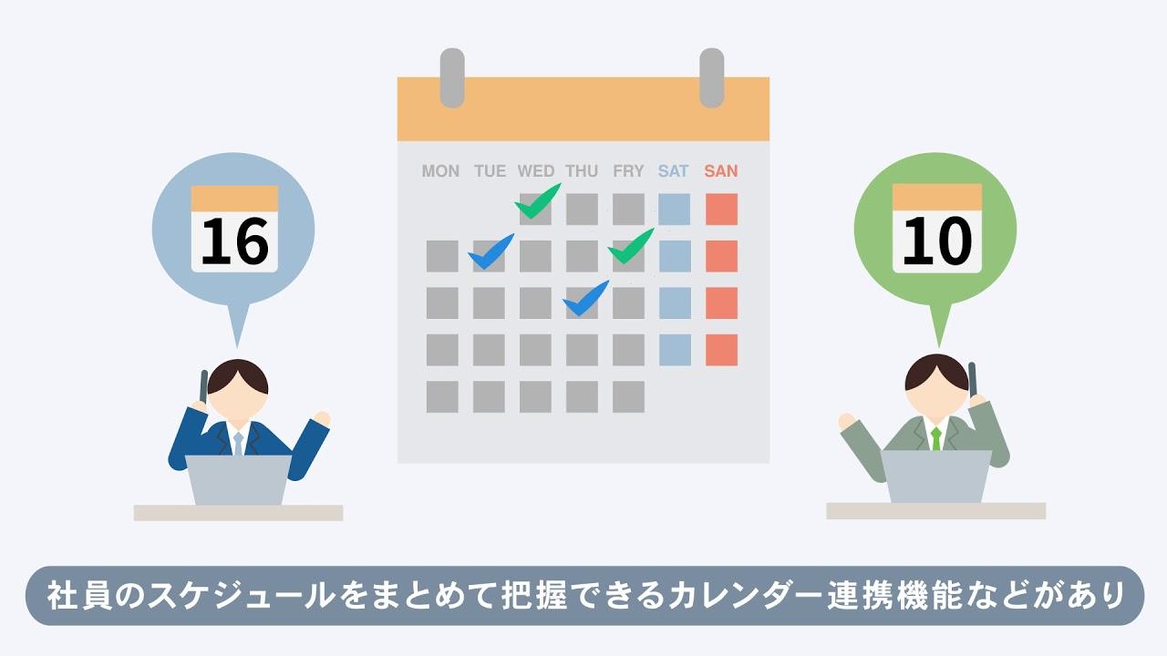 【アニメーション】勤怠管理システム紹介