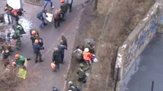 06.12.14 Расстрел активистов Майдана на Институтской 20 февраля(РИА