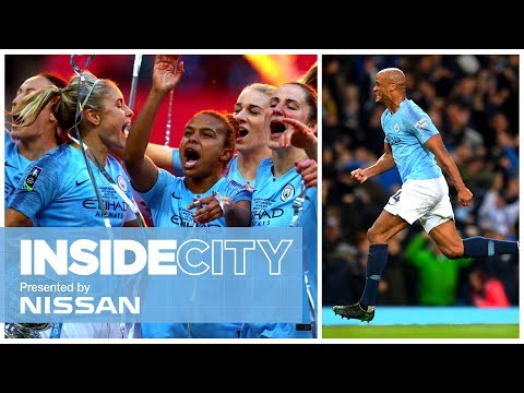 HERE'S TO YOU VINCENT KOMPANY | WEMBLEY TROPHY LIFT | INSIDE CITY 341