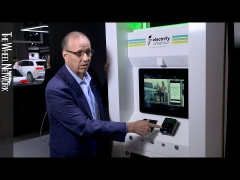 Electrify America at the 2019 New York Auto Show (Volkswagen Subsidiary)