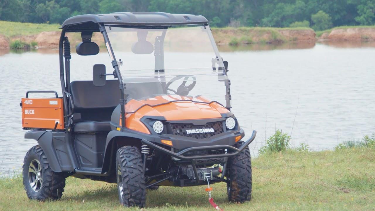 UTV MASSIMO BUCK 400 4WD CAMO