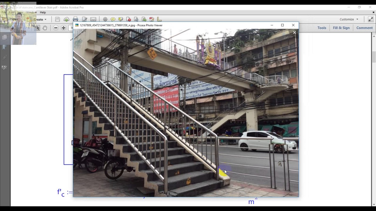 Design Of Cantilever Stair Youtube   Cantilever Staircase Structural Design   Steel   Structure   Metal   Exposed Brick Wall   Wood