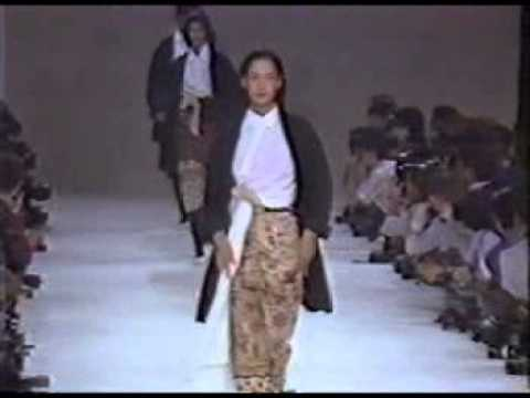 From the Corporate Priestess Archive: Yohji Yamamoto Women's Spring Summer 1986