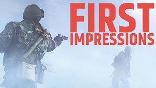 Battlefield V FIRST Impressions \\ EARLY GAMEPLAY GRAND OPERATIONS