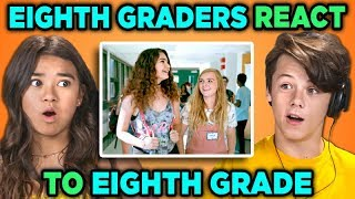 EIGHTH GRADERS REACT TO EIGHTH GRADE (Movie) thumbnail